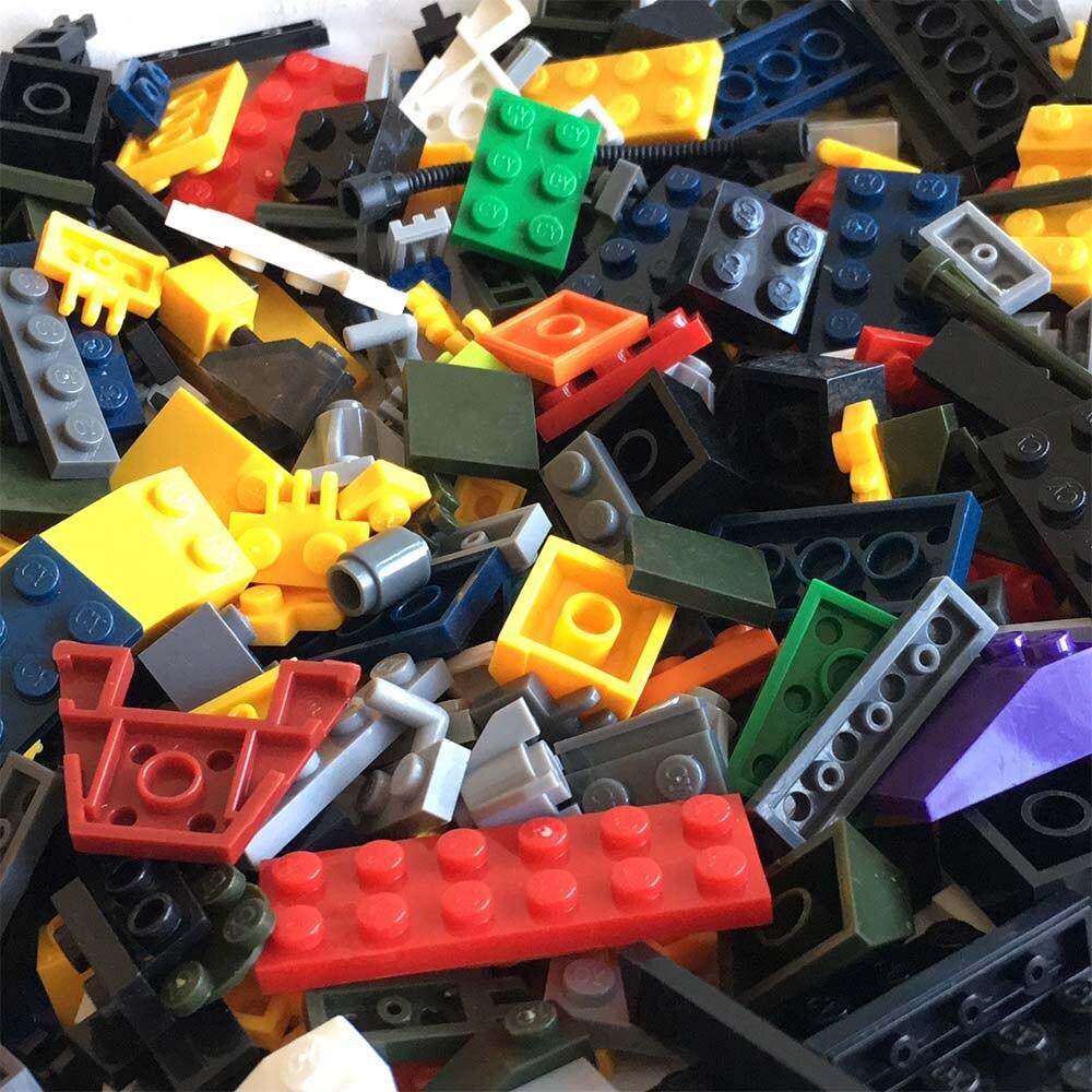 2 Pcs Livraison Gratuite DIY Ville Blocs de Construction Briques Jouets Éducatifs Compatible avec LegoINGl Briques Mini LegoINGL Duplo