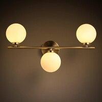 led g9 Nordic Iron Glass Designer LED Wall lamp Wall Light wireless wall lamp For Bar Store Foyer Bedroom Corridor Lobby