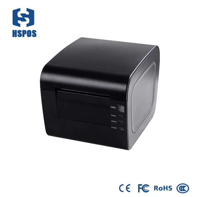 Pos printer professional receipt thermal 80mm high end kitchen multifuncional usb printer auto cutter front paper exit qr code