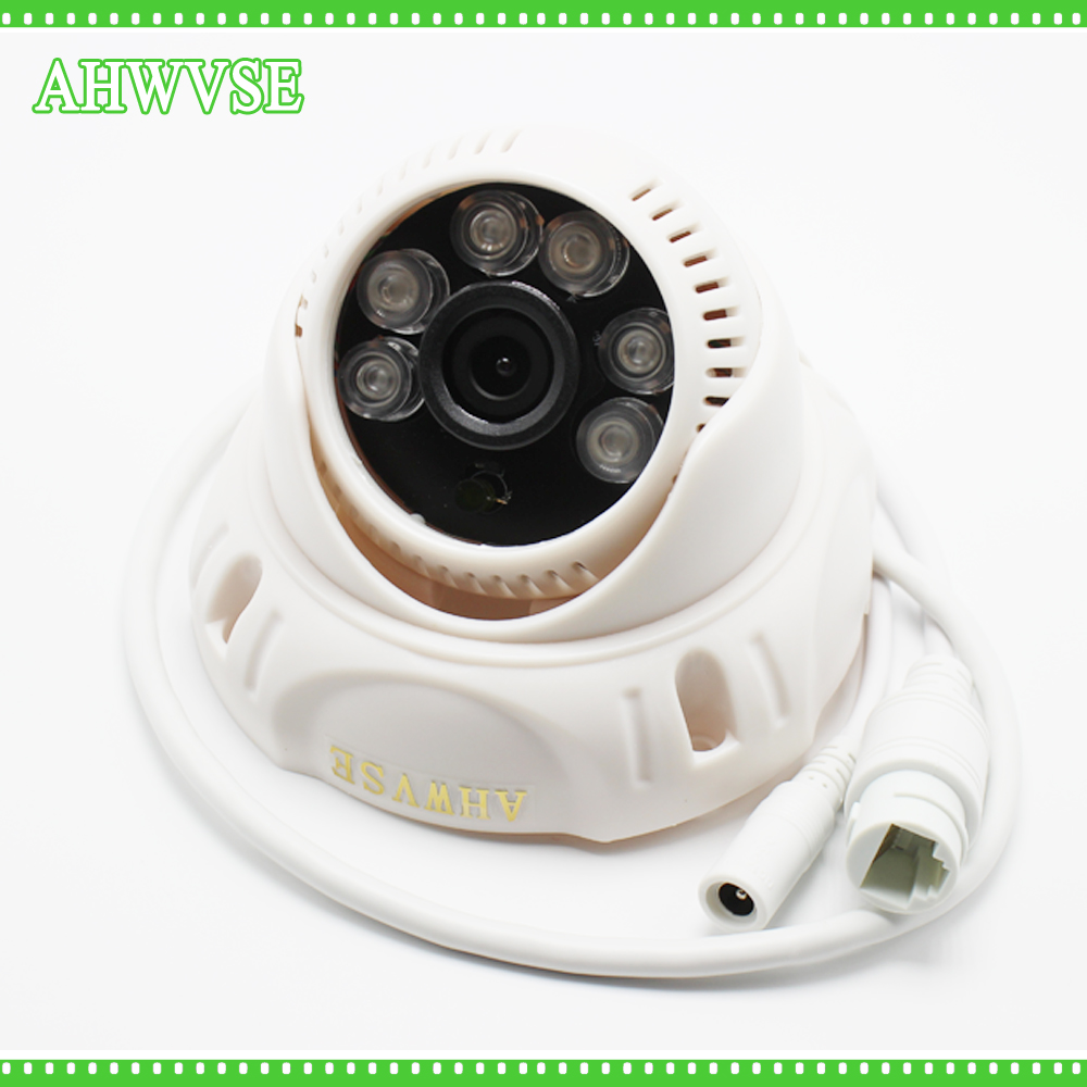 AHWVSE 1080P 2.0MP 720P IR Dome Camera Indoor CCTV IP Camera ONVIF Night Vision P2P IP Security Cam 1080p 2 0mp 960p 1 3mp 720p 1 0mp 4led ir dome ip camera indoor cctv camera onvif night vision p2p ip security cam ir cut 2 8mm