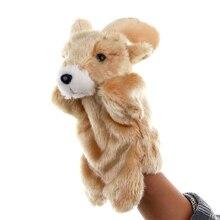 1 Pcs Animal Hand Puppet Toy Novelty Cute Hand Glove Puppet Sheep Finger Sack Plush Toys Puppet Doll Marionetes Fantoche Puppets little shark finger puppet book
