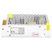 Sortie DC 12 V 8.5A 100 W AC à DC Transformateur D'alimentation Pour LED Bande Lumière Module Lampe 110/240 V, E12