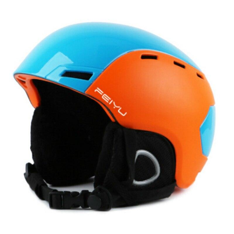Portable professionnel Ski Casque Moulée Intégralement Snowboard sport casque Hommes Femmes Patinage À Roulettes Ski Casque