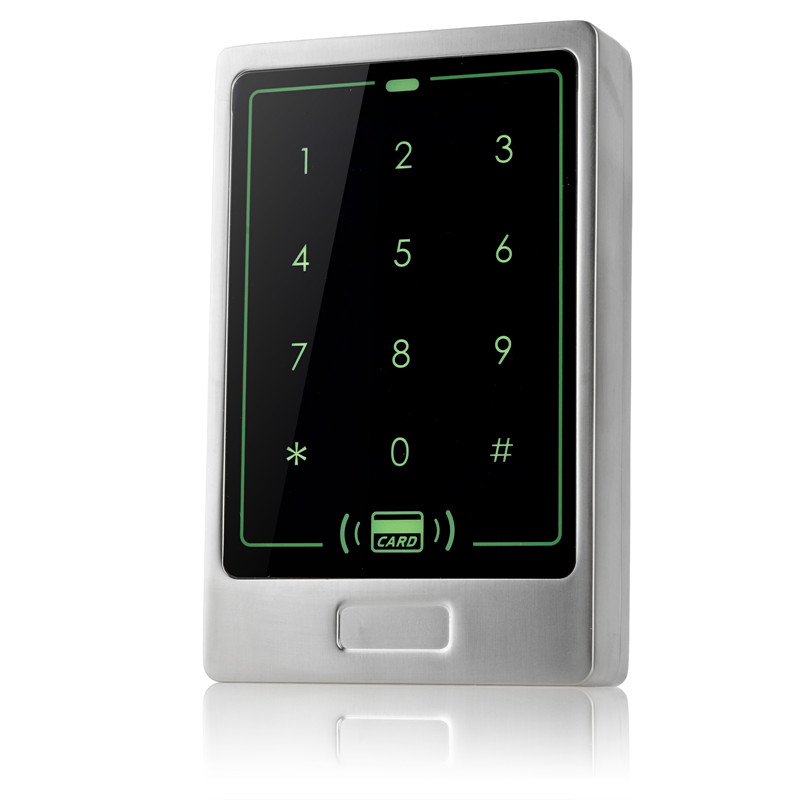 8000 user RFID card access control reader standalone weigand door access control panel surface waterproof access controller