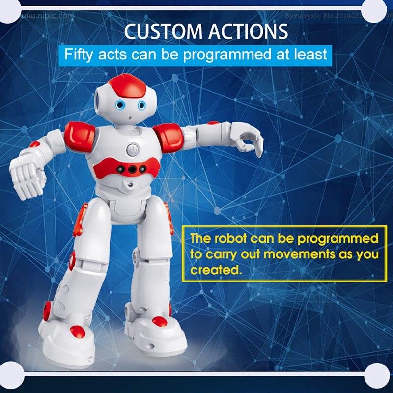 Robot télécommandé Intelligent multi-fonctionnel danse chant interactif robot électrique enfants jouets Rc Robot humanoïde - 4