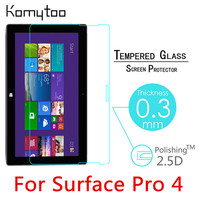 Pro4 9H 0 3mm For Microsoft Surface Pro 4 12 3 Toughened Tempered Glass Film Tablet