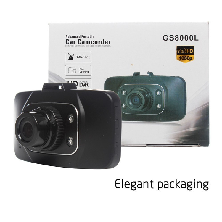 Original Novatek GS8000L Full HD 1080P 2 7 Car DVR Vehicle Camera Video Recorder Dash Cam