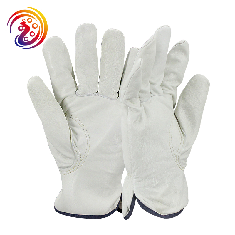 цена на OLSON DEEPAK Sheepskin Work Gloves Factory Driving Gardening Protective Cape Gloves HY019