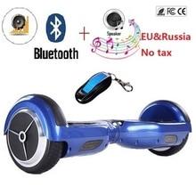"""6.5 """"Ecléctico de auto equilibrio scooter de skateboard hoverboard patineta 2 ruedas Inteligente equilibrio scooter eléctrico giroskuter"""