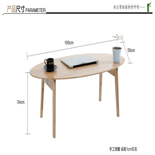 Multipurpose Eco Friendly Bamboo Tea Table Side Tables Folding Leisure  Tatami Coffee Tables