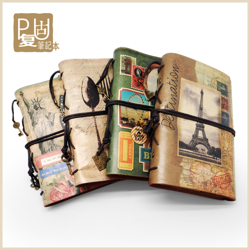 travelers notebook creative vintage leather a6 travel