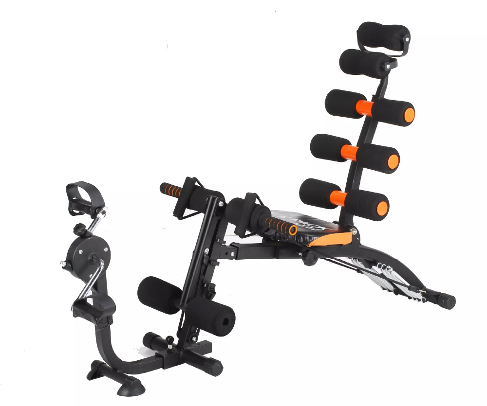 Multifonctionnel sit-up machine Aérobie pédale AB COASTER Fitness Intégré machine abdominale