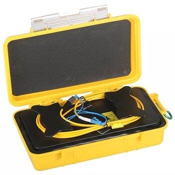 OTDR Launch Cable Box SM OTDR Fiber Rings OTDR Patch Cord Singlemode FC/UPC-LC/UPC otdr launch cable box sm 1000m otdr patch cord otdr dead zone eliminator fiber rings