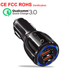 Car USB Charger Quick Charge 3.0 Mobile Phone Charger Dual USB Fast Charger QC 3.0 Car Charger for iphone Samsung Xiaomi Tablet