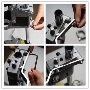 Image 5 - ไฟฟ้าสว่าน Power เครื่องมือโรตารี่เจาะกดขาตั้ง DIY เครื่องมือ Double CLAMP กรอบฐานเจาะ