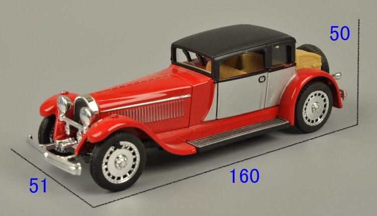 Veículos Miniatura e de Brinquedo bugatti modelo de carro puxar Manner of Packing : Color Box