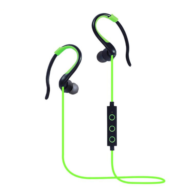 2017 Sale Wireless Headphone Earphone Bluetooth Headset Sports Ear Hanging Wireless Stereo Headphones For A With Microphone