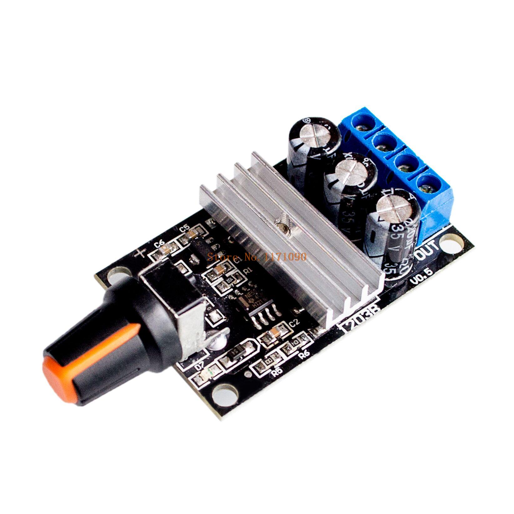 Pwm dc 6v 12v 24v 28v 3a motor speed control new switch for 24v dc motor controller circuit
