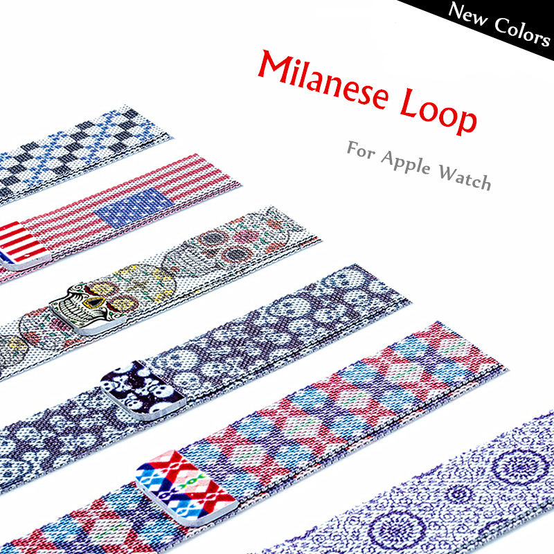 Milanese Loop Strap For Apple Watch Band 42mm 38 Mm IWatch 4 Band 44mm 40mm Stainless Steel Correa Bracelet Apple Watch 5 4 3 2