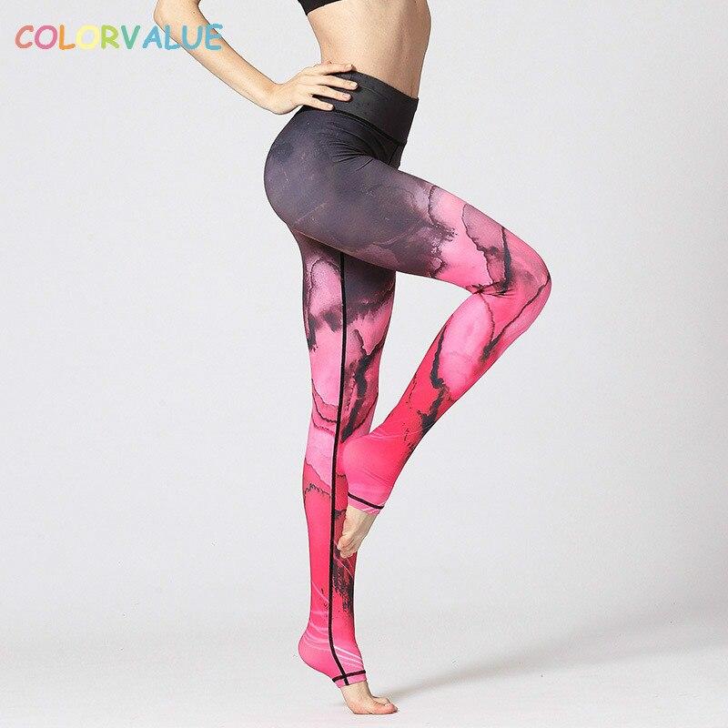 Calças de Treino de Fitness Stretch Yoga Quente Suor Esportes