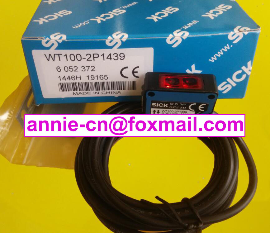 ФОТО WT100-P1439(IS WT100-P1432+Stent) New and original  SICK  Photoelectric switch    Photoelectric sensor
