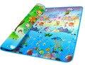 2017 Мода Doulble-сайта Ребенка Играть Мат 2*1.8 Океан И Зоопарк для Детей На Открытом Воздухе Игры Одеяло Ребенка Ползать мат 34