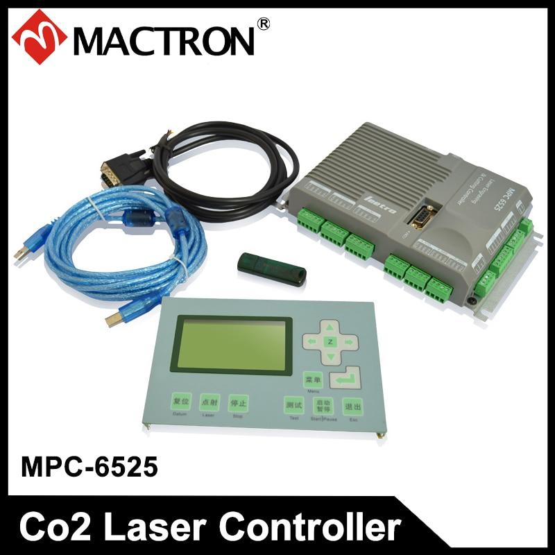 DSP lézeres mozgásvezérlő kártya Leetro MPC 6525 6525A lézergravírozó és vágóvezérlő