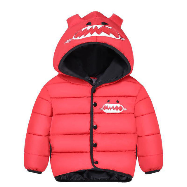 Jackets For Girls Boys Coats Thick Warm Down Cotton Parkas 18M-4Y Children's Winter Jackets Baby Kids Overcoats Outdoor SC553
