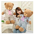 Of genuine new teddy bear plush toy doll wearing a suit doll Dolls creative home wedding gift birthday gift girls gift