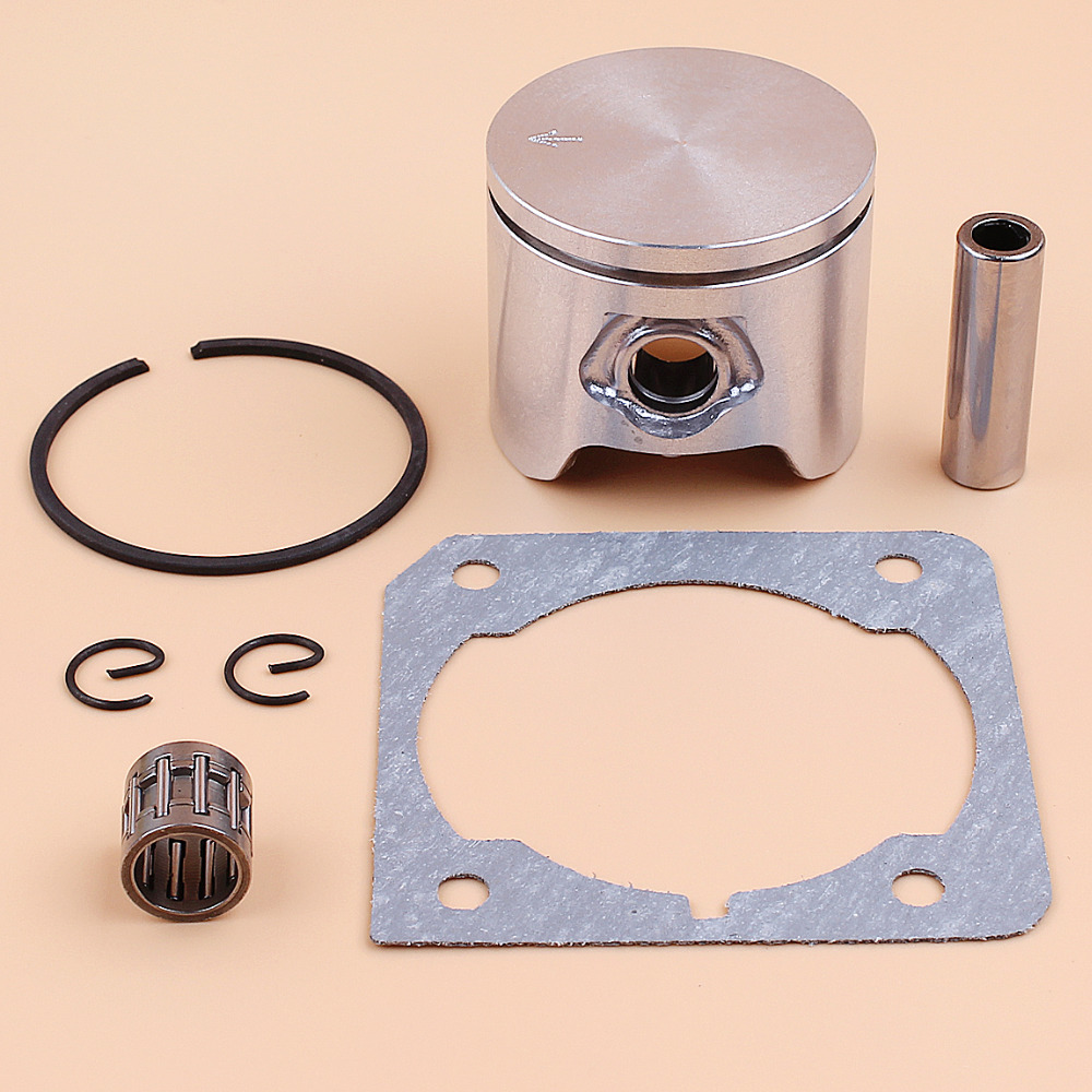 44mm Piston Ring Bearing Cylinder Gasket Kit For HUSQVARNA 345 350 340 346 XP 351 353 Chainsaw Motor Parts