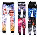 New Tracksuits Super Star James/Jordan Print 3d Joggers Women Men Fitness Pants Suits The Last Shot Hip Hop Trousers Dropship