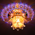 5 W moderna iluminação de teto de cristal luzes sala de estar corredor AC220-240V lâmpada led para casa decoração abajur luminaria