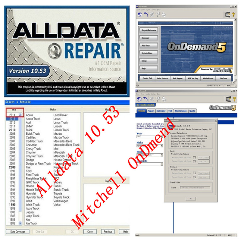 ALLDATA, ALLDATA Repair, ALLDATA Collision, ALLDATA Manage and ALLDATA Market are registered trademarks and ALLDATA Mobile, ALLDATA Training Garage and WITH YOU are marks of ALLDATA LLC. All other marks are the property of the their respective holders.