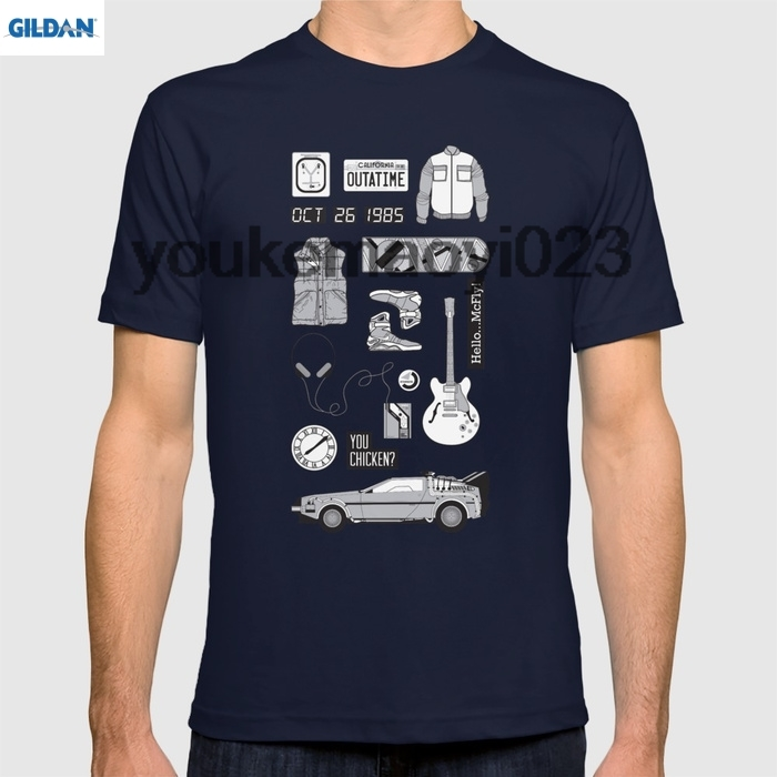 GILDAN McFly Icons - Back to the Future for men t shirt