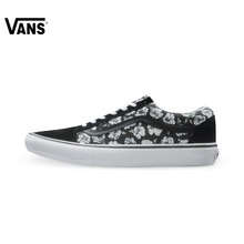 Original Vans Black Color and Colourful Men's and Women's Unisex Skateboarding Shoes Canvas Shoes Sneakers