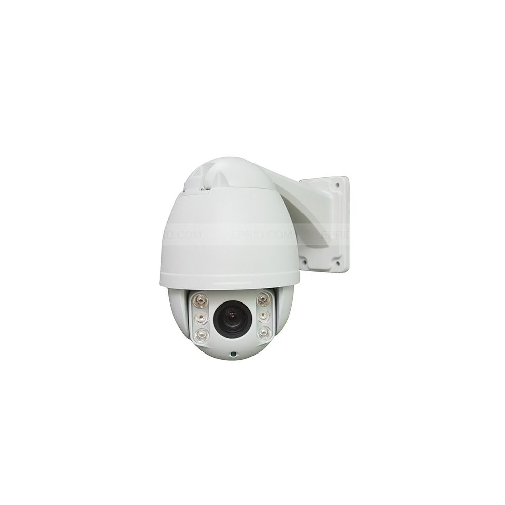 4 inch 2 Megapixel 1080P HD IP PTZ Dome Camera 10x Optical Focus