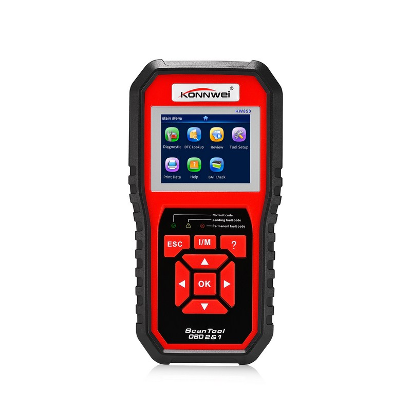 Auto Scanner Diagnostic Tester Multi-languages Car Diagnostic Tools Automotive Scanner OBDII/EOBD Can Scanner Tool Full System 2016 new arrival vs 890 obd2 car scanner scantool obdii code reader tester diagnostic tools 3 inch lcd car detector