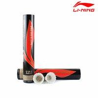 2 Dozen/lô Li-Ning Cầu Lông Đá Cầu A + 100 Lót Con Ngỗng Lông Bóng cho Giải Đấu Mức Độ Li Ning Birdie Cây Vợt L659