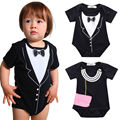 2017 Newborn Cotton Bodysuit Toddler Kids Baby Boys Girls Cute Outfits Jumpsuit Bodysuits Party Playsuit Children Clothes Hot
