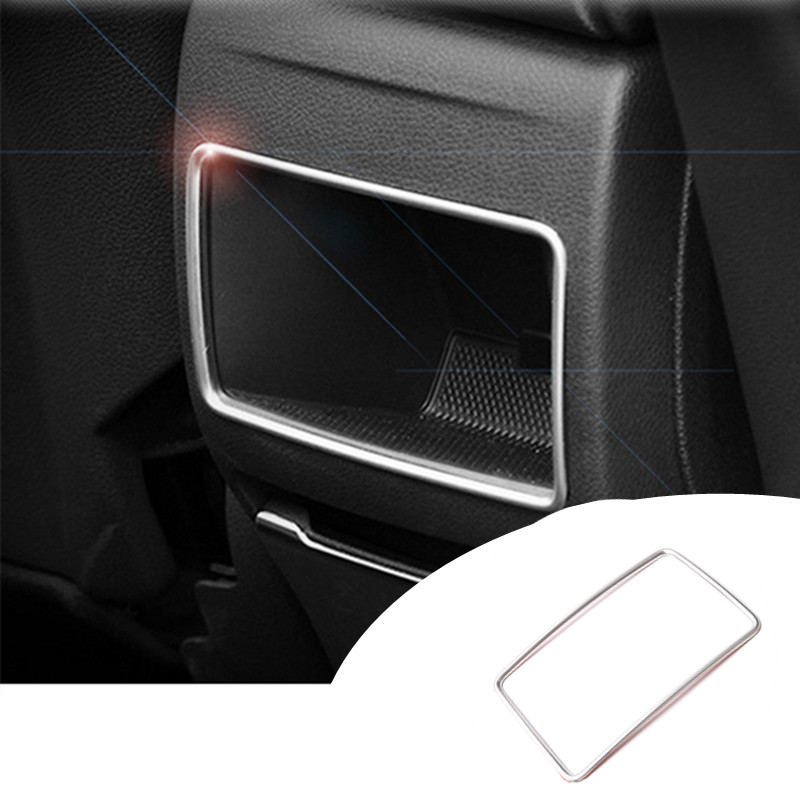 Stainless Rear Air Vent Cover For Benz A-Class W176 2013-2015 B-Class W246 2012-2015