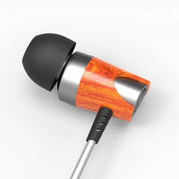2017 BOSSHIFI B3s Dynamic And Armature 2 Unit Moving Iron Coil In Ear Wood HiFi Earphone
