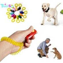 Трансер, креативный, хит, портативный, с кнопкой для собак, кликер, звуковой тренажер, инструмент для обучения домашних животных, браслет, аксессуары, Прямая поставка, oT26 P40