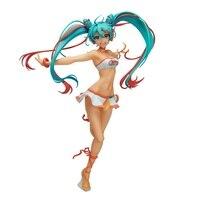 New Hatsune Miku Racing Miku Lovely Girl 22cm Vocaloid Virtual Idol Figure Figurine Toys NE5
