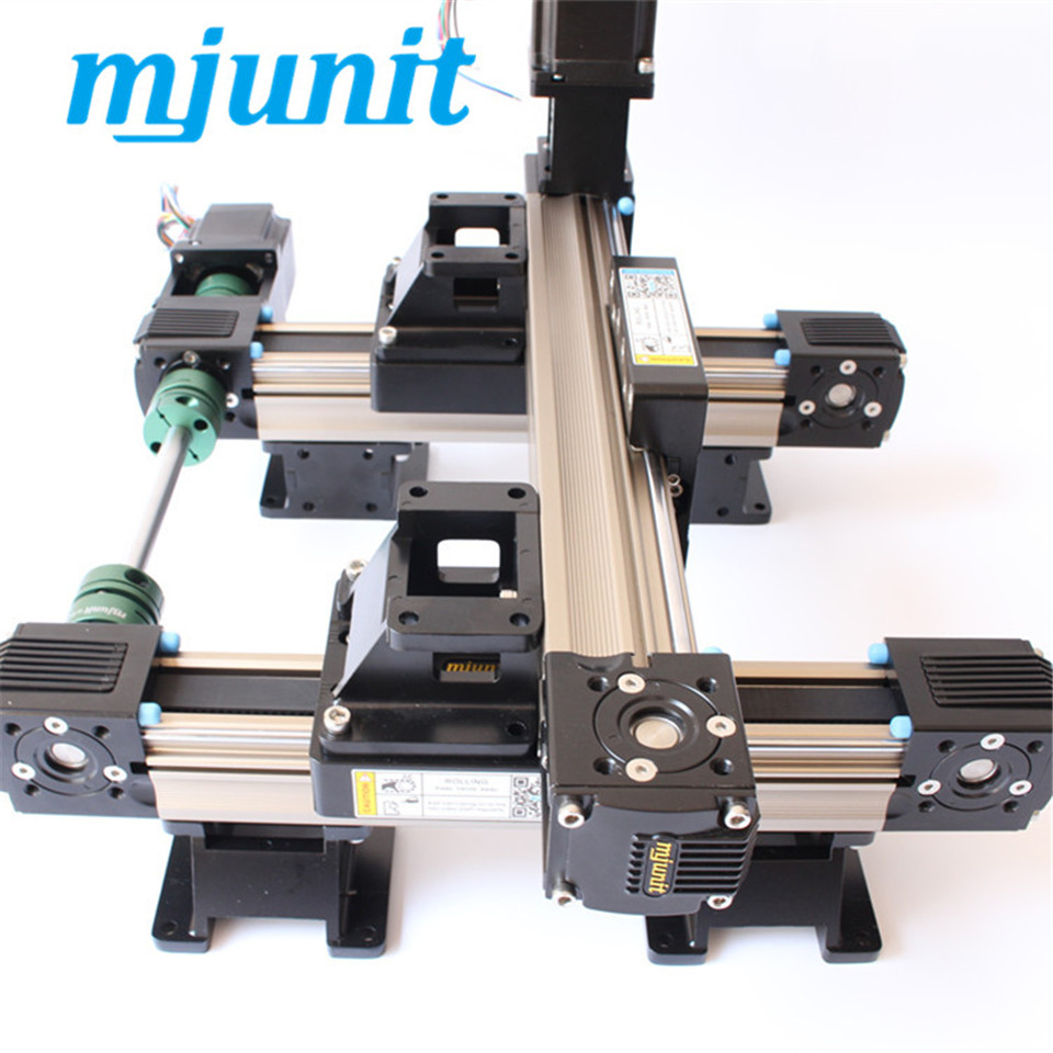MJ45 linear rail Belt Drive Linear Guide and Linear Rail Belt drive linear guide rail for cnc laser cutting machine cnc linear rail r165371420 page 4 href