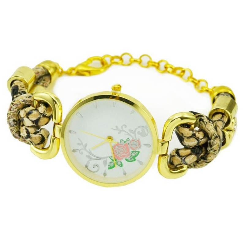 New Women Watches Ladies Watches Fashion Vintage Watches Leather Strap Quartz Bracelet Watch Womens Wristwatch Relogio Feminino