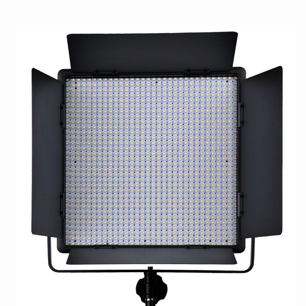 Godox LED1000W 1000 LED 5600K White Video Light Lighting Brightness + Wireless Remote + Power Adapter For Camera DV Video