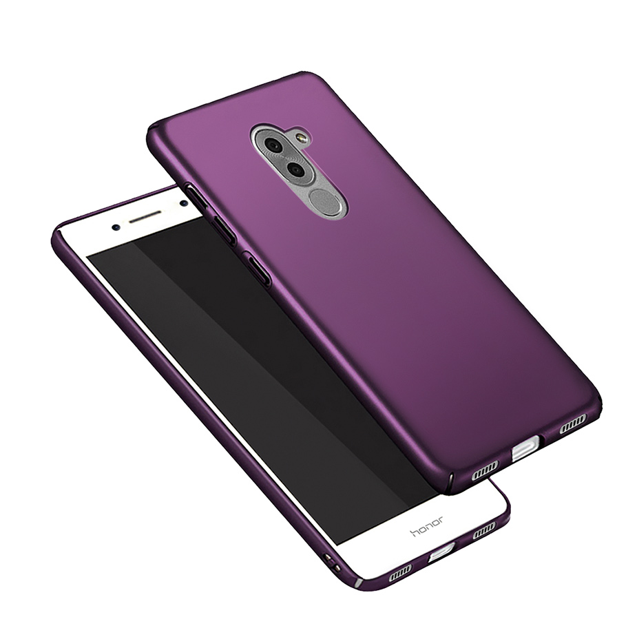 Protective <font><b>Case</b></font> For Huawei <font><b>Honor</b></font> 6X 6 X Luxury Hard <font><b>Plastic</b></font> Frosted Scrub Phone Shell For GR5 2017 Mate <font><b>9</b></font> <font><b>Lite</b></font> Slim <font><b>Cases</b></font> 5.5 '' image