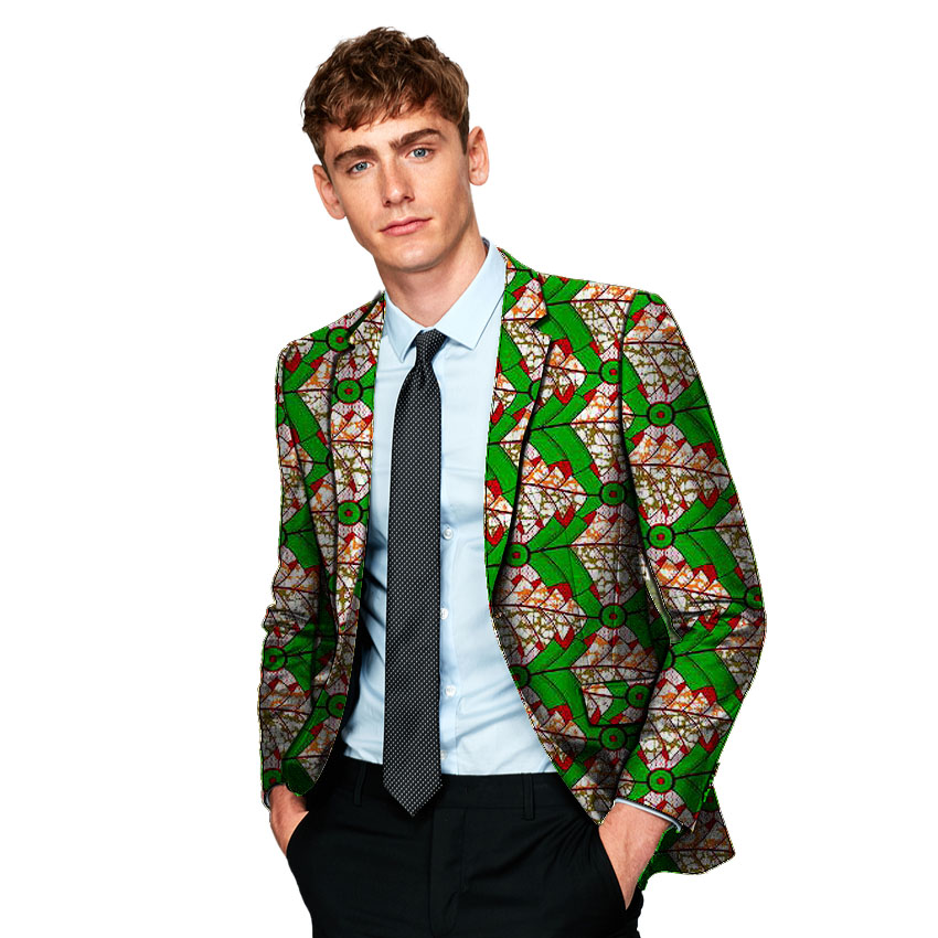 Formal men 39 s blazers print suit jacket business blazer wedding party unique design dashiki male African clothing in Blazers from Men 39 s Clothing