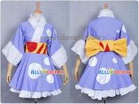 K-On Cosplay Mio Akiyama Kimono H008
