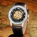 FREQÜENTADOR Dos Homens Relógios Top Marca De Luxo Automatic Self-Vento Esqueleto Relógios Mecânicos Moda Casual Homens Relógios Relogio masculino